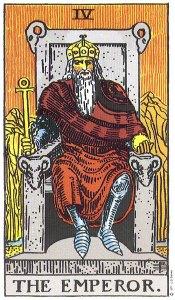 The Emperor, control, authority