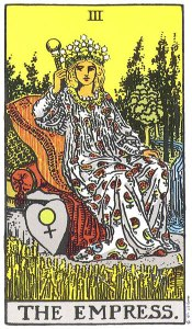 The Empress, motherhood, creativity