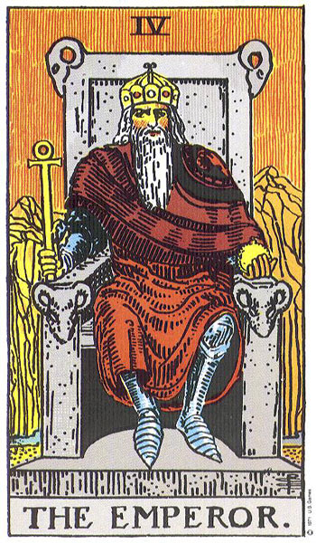 The Emperor, Rider-Waite
