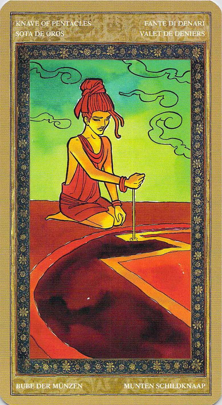 Tarot Salve: Cards For The Day: Knaves Of Pentacles And Wands