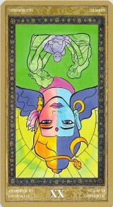 Judgement--Yoga Tarot