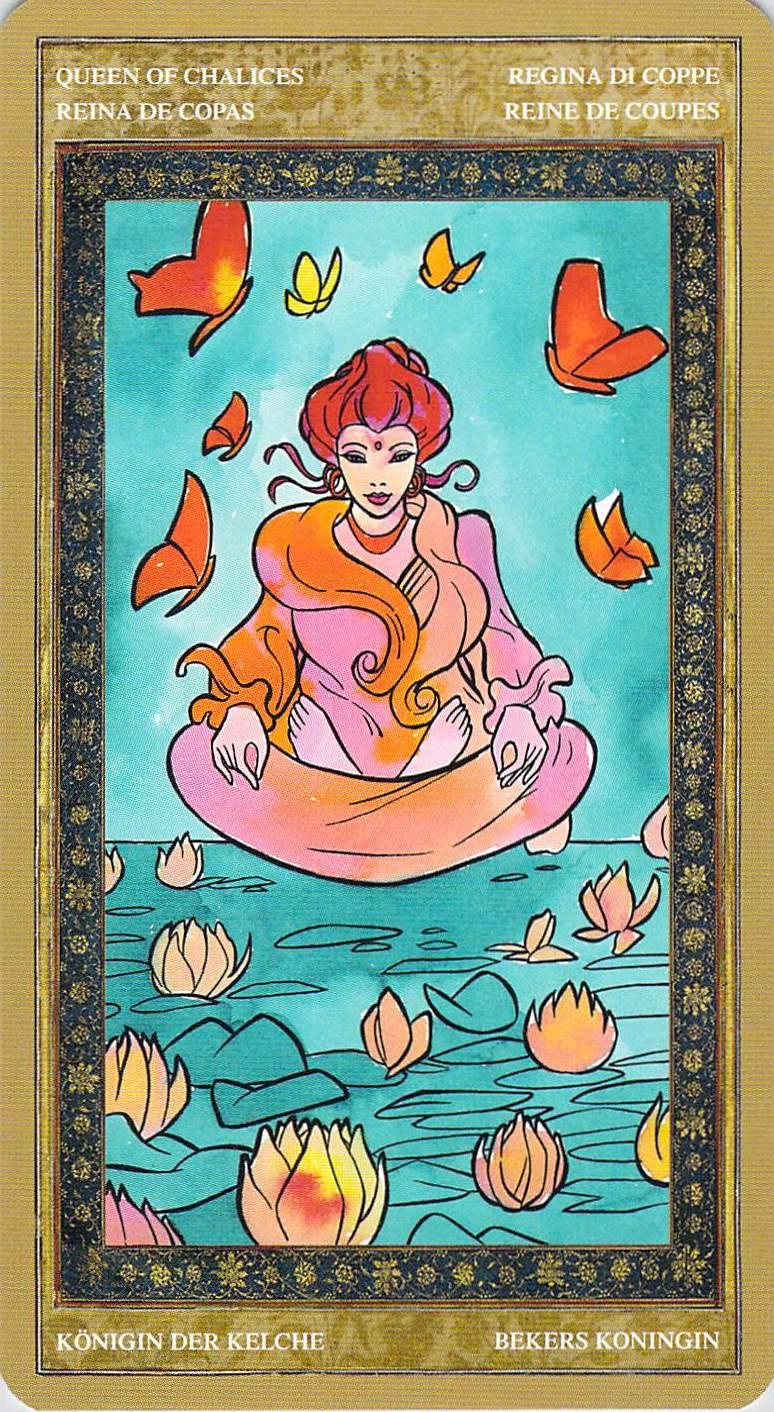 Queen of Chalices--Yoga Tarot