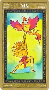 The Sun--Yoga Tarot