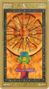 The Wheel--Yoga Tarot