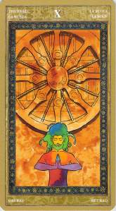 The Wheel--Yoga Tarot