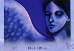 Blue Angel from Toni Carmine Salerno's Universal Wisdom