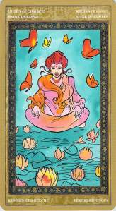 Queen of Chalices--Yoga Tarot