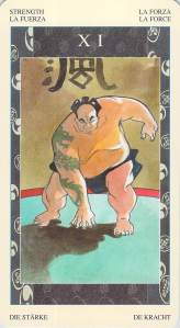 Strength, Samurai Tarot