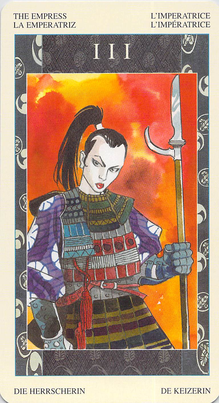 The Empress--Samurai Tarot