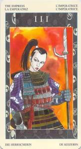 The Empress--Samurai Tarot