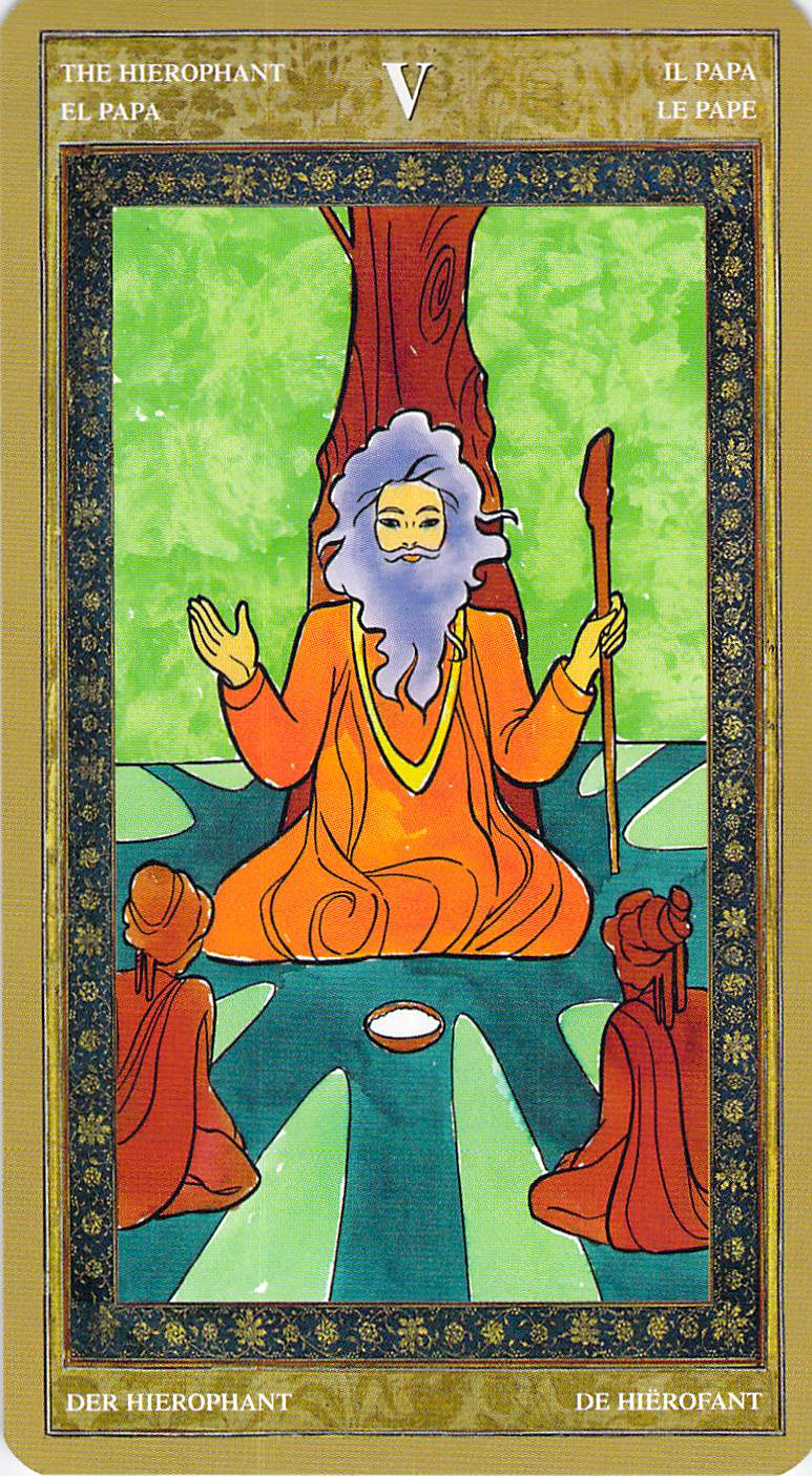 The Hierophant--Yoga Tarot