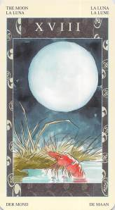 The Moon--Samurai Tarot