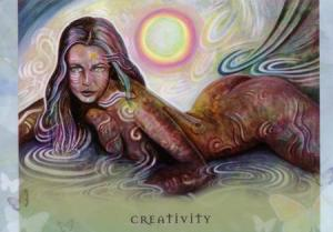 Creativity--Universal Wisdom deck