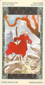 King of Chalices--Samurai Tarot