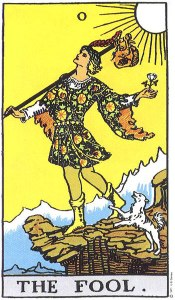 The Fool--Rider Waite