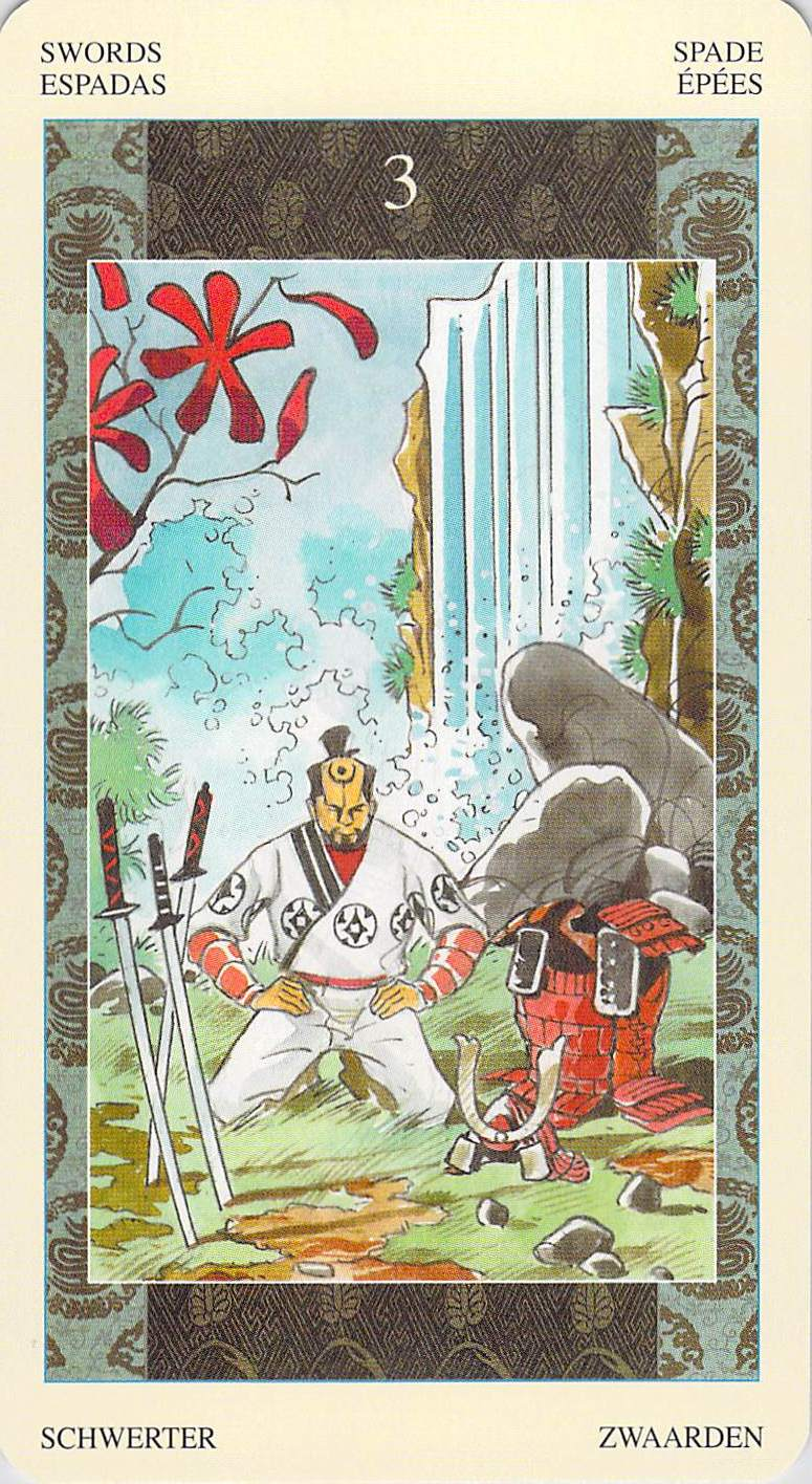 Cards For The Day: R'd 3 Of Swords/10 Of Cups: Lay Down