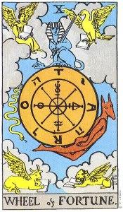 Wheel of Fortune--Rider-Waite