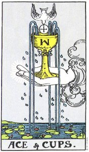 Ace of Cups--Rider-Waite