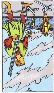 Five of Swords reversed--Rider-Waite