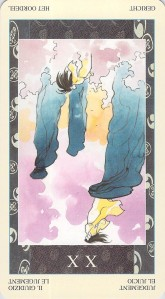 Judgement reversed--Samurai Tarot