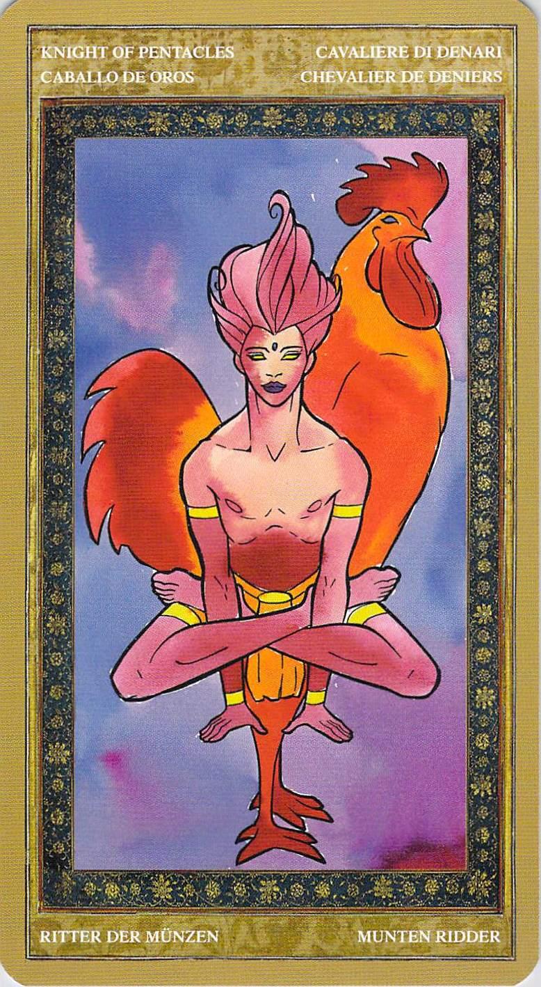 Knight of Pentacles--Yoga Tarot