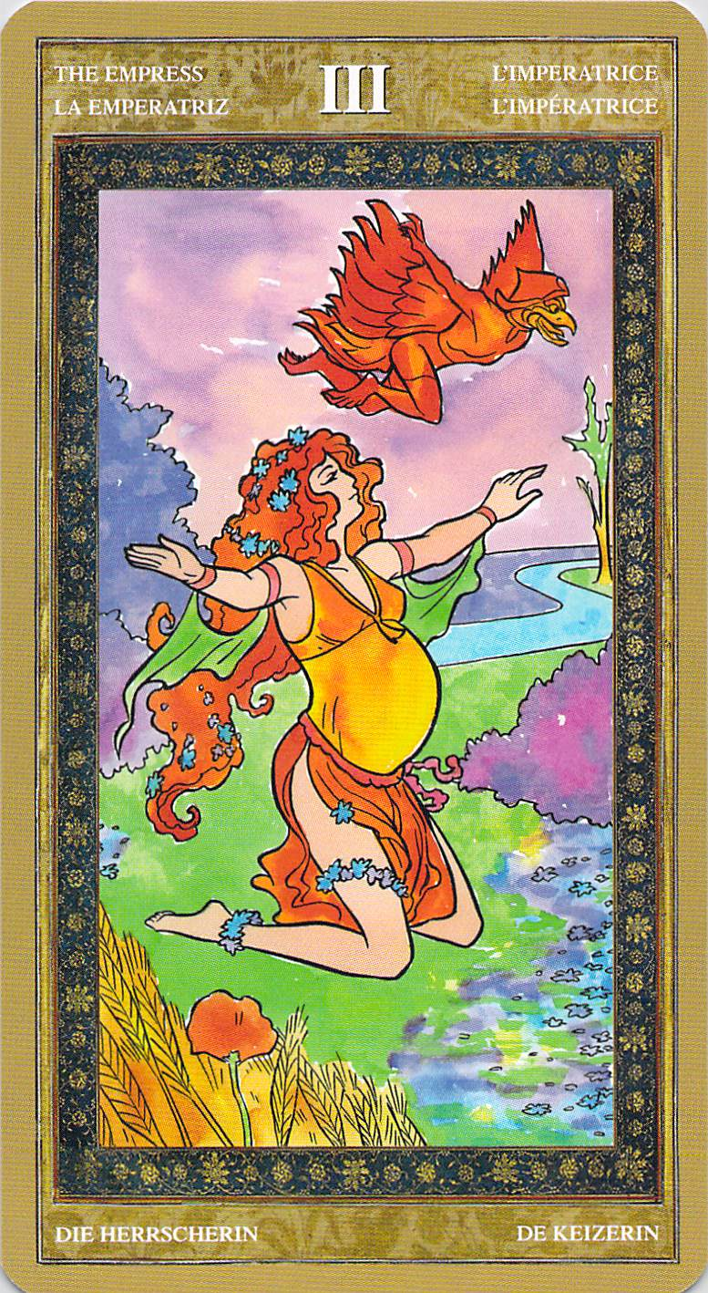 The Empress--Yoga Tarot