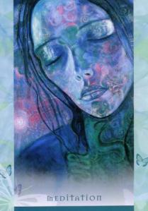 Meditation--Universal Wisdom deck
