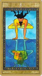 Five of Swords--Yoga Tarot
