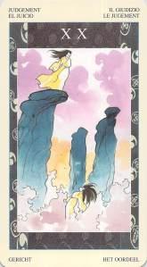 Judgement--Samurai Tarot
