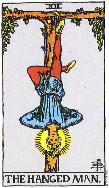 The Hanged Man--Rider-Waite