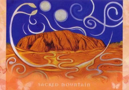 Sacred Mountain--Universal Wisdom deck