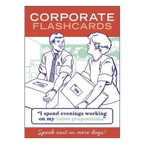 Corporate Flashcards box