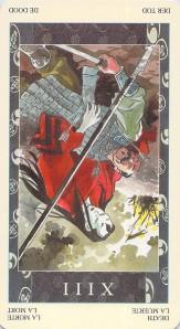 Death reversed--Samurai Tarot