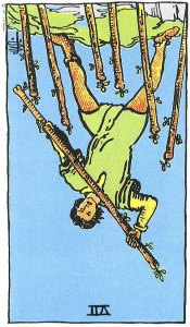 Seven of Wands reversed