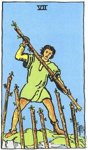 Seven of Wands