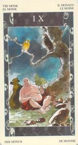 The Monk--Samurai Tarot