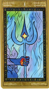 Ace of Swords--Yoga Tarot