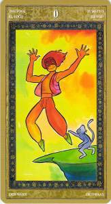 The Fool -- Yoga Tarot