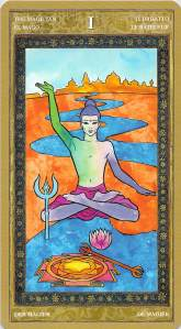The Magician--Yoga Tarot