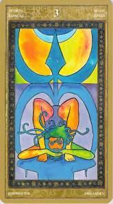 Three of Swords--Yoga Tarot