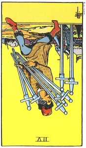 Seven of Swords reversed