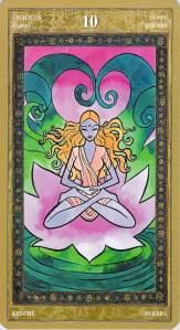 Ten of Chalices--Yoga Tarot