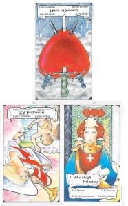 three card spread from Tarot to Go