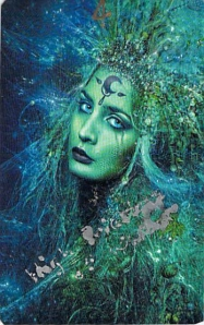 High Priestess of Water -- House of Night cards