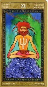 The Hermit -- Yoga Tarot