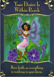 Your Desire Is Within Reach -- Magical Messages from the Fairies