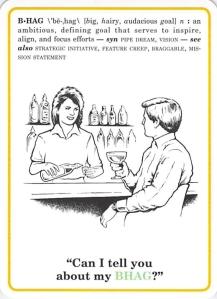 BHAG -- Corporate Flash Cards