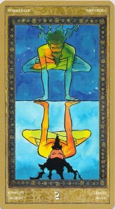 Five of Swords reversed -- Yoga Tarot
