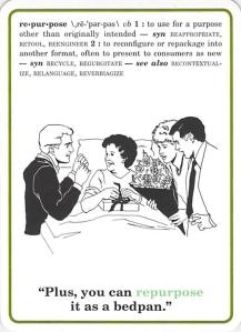 Repurpose -- Corporate Flash Cards