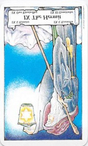 The Hermit reversed -- from Tarot to Go